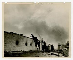 Primary view of object titled '[4 Alarm Rooftop Fire]'.