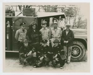 Primary view of object titled '[1957 Firemen]'.