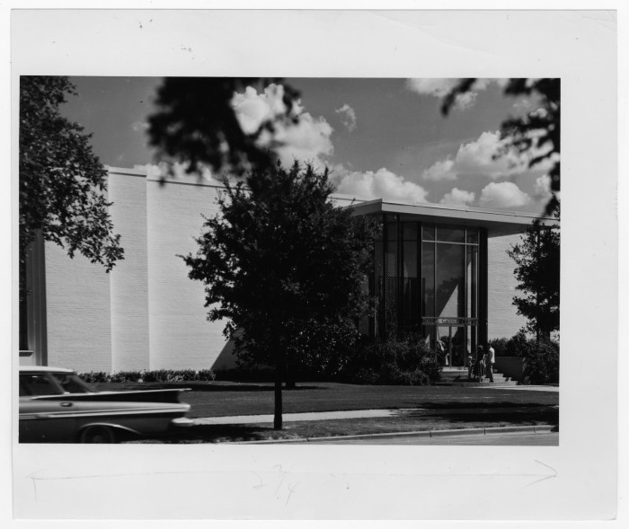 Primary View Of Object Titled U0027[Dallas Garden Center Entrance ...