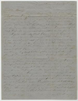 Primary view of object titled '[Letter from L. D. Bradley to Minnie Bradley - September 17, 1864]'.