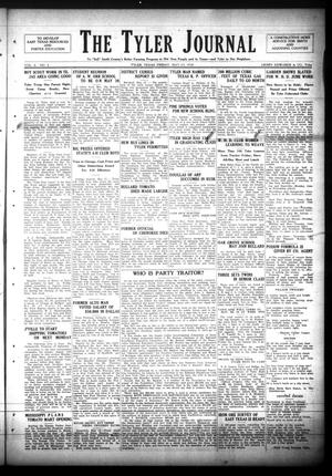 Primary view of The Tyler Journal (Tyler, Tex.), Vol. 6, No. 4, Ed. 1 Friday, May 23, 1930