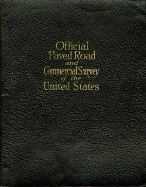 Primary view of object titled 'Official Paved Road and Commercial Survey of the United States'.