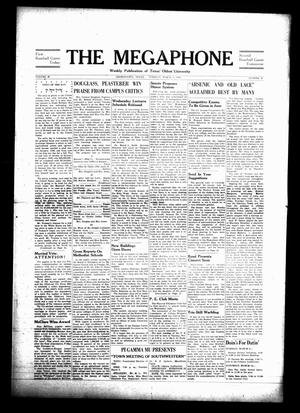 Primary view of object titled 'The Megaphone (Georgetown, Tex.), Vol. [41], No. 19, Ed. 1 Tuesday, March 9, 1948'.