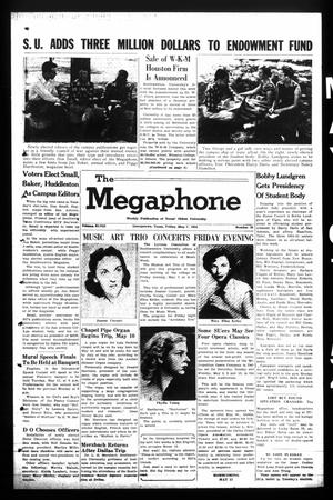 Primary view of object titled 'The Megaphone (Georgetown, Tex.), Vol. 48, No. 35, Ed. 1 Friday, May 7, 1954'.