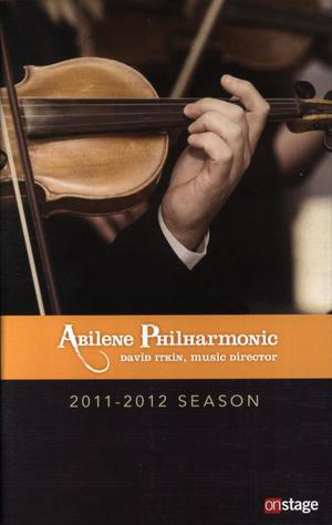 Abilene Philharmonic Playbill: October 29, 2011