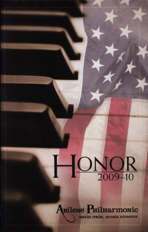Abilene Philharmonic Playbill: February 20-April 24, 2010