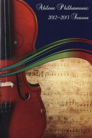 Abilene Philharmonic Playbill: January 26-February 23, 2013