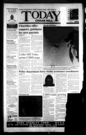 Primary view of object titled 'Today Cedar Hill (Duncanville, Tex.), Vol. 35, No. 28, Ed. 1 Thursday, October 5, 2000'.
