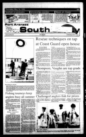 Primary view of object titled 'Port Aransas South Jetty (Port Aransas, Tex.), Vol. 25, No. 20, Ed. 1 Thursday, May 18, 1995'.