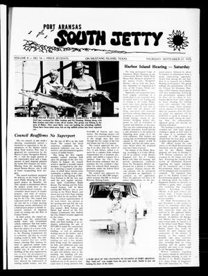Primary view of object titled 'Port Aransas South Jetty (Port Aransas, Tex.), Vol. 8, No. 14, Ed. 1 Thursday, September 21, 1978'.