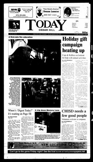 Primary view of object titled 'Today Cedar Hill (Duncanville, Tex.), Vol. 39, No. 32, Ed. 1 Thursday, November 4, 2004'.
