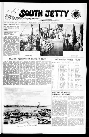 Primary view of object titled 'South Jetty (Port Aransas, Tex.), Vol. 2, No. 3, Ed. 1 Thursday, July 13, 1972'.