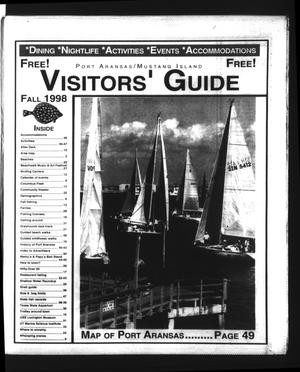 Primary view of object titled 'Fall 1998 Visitors' Guide (Port Aransas, Tex.)'.