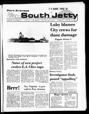 Primary view of object titled 'Port Aransas South Jetty (Port Aransas, Tex.), Vol. 12, No. 2, Ed. 1 Thursday, January 14, 1982'.