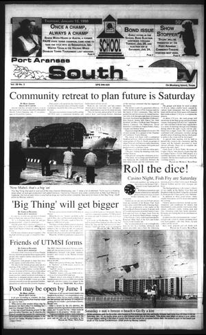 Primary view of object titled 'Port Aransas South Jetty (Port Aransas, Tex.), Vol. 28, No. 3, Ed. 1 Thursday, January 15, 1998'.