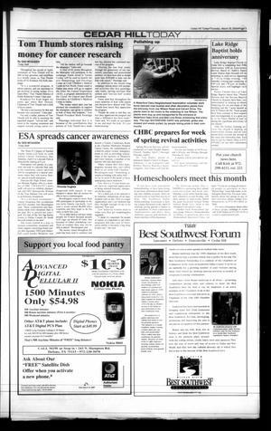 Today Cedar Hill Duncanville Tex Vol 35 No 01 Ed 1