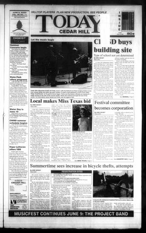 Primary view of object titled 'Today Cedar Hill (Duncanville, Tex.), Vol. 35, No. 11, Ed. 1 Thursday, June 8, 2000'.