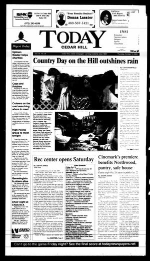 Primary view of object titled 'Today Cedar Hill (Duncanville, Tex.), Vol. 39, No. 29, Ed. 1 Thursday, October 14, 2004'.