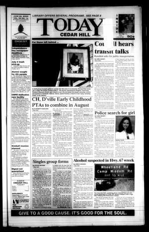 Primary view of object titled 'Today Cedar Hill (Duncanville, Tex.), Vol. 35, No. 14, Ed. 1 Thursday, June 29, 2000'.