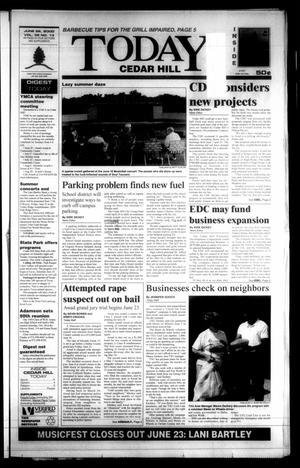 Primary view of object titled 'Today Cedar Hill (Duncanville, Tex.), Vol. 35, No. 13, Ed. 1 Thursday, June 22, 2000'.