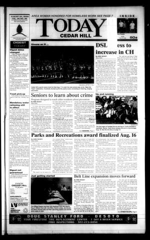 Primary view of object titled 'Today Cedar Hill (Duncanville, Tex.), Vol. 35, No. 22, Ed. 1 Thursday, August 24, 2000'.