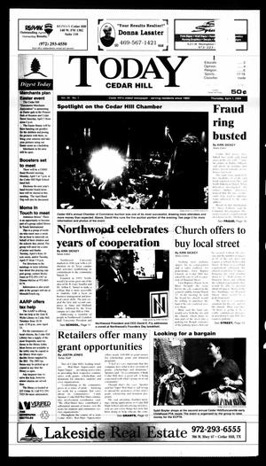 Primary view of object titled 'Today Cedar Hill (Duncanville, Tex.), Vol. 39, No. 1, Ed. 1 Thursday, April 1, 2004'.