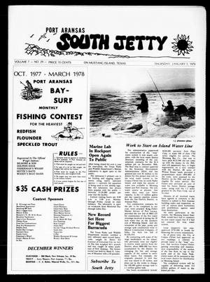 Primary view of object titled 'Port Aransas South Jetty (Port Aransas, Tex.), Vol. 7, No. 29, Ed. 1 Thursday, January 5, 1978'.