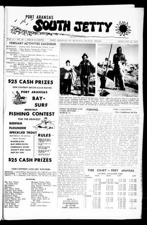 Primary view of Port Aransas South Jetty (Port Aransas, Tex.), Vol. 4, No. 19, Ed. 1 Friday, February 21, 1975