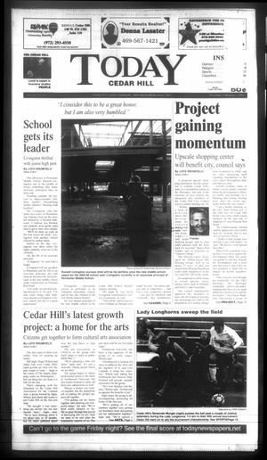Primary view of object titled 'Today Cedar Hill (Duncanville, Tex.), Vol. 39, No. 42, Ed. 1 Thursday, February 3, 2005'.