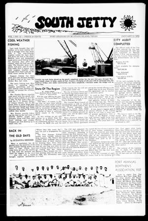 Primary view of object titled 'South Jetty (Port Aransas, Tex.), Vol. 1, No. 15, Ed. 1 Thursday, January 13, 1972'.