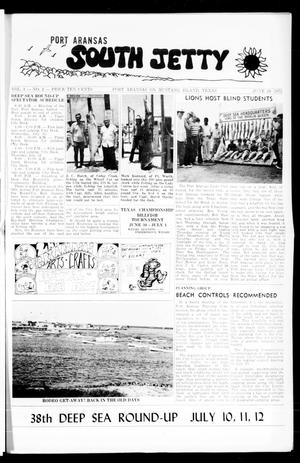 Primary view of object titled 'Port Aransas South Jetty (Port Aransas, Tex.), Vol. 3, No. 2, Ed. 1 Thursday, June 28, 1973'.