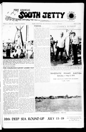 Primary view of object titled 'Port Aransas South Jetty (Port Aransas, Tex.), Vol. 3, No. 24, Ed. 1 Friday, May 3, 1974'.