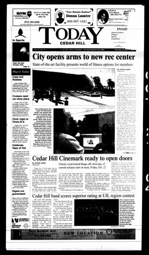 Primary view of object titled 'Today Cedar Hill (Duncanville, Tex.), Vol. 39, No. 30, Ed. 1 Thursday, October 21, 2004'.