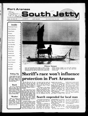 Primary view of object titled 'Port Aransas South Jetty (Port Aransas, Tex.), Vol. 12, No. 30, Ed. 1 Thursday, July 29, 1982'.