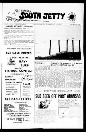 Primary view of Port Aransas South Jetty (Port Aransas, Tex.), Vol. 3, No. 17, Ed. 1 Thursday, January 24, 1974