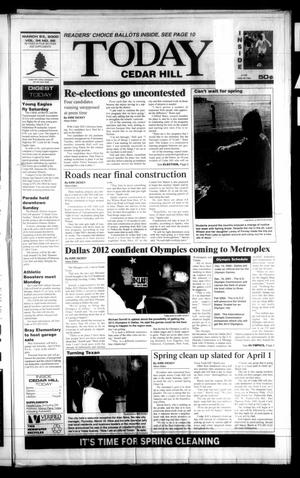 Primary view of object titled 'Today Cedar Hill (Duncanville, Tex.), Vol. 34, No. 52, Ed. 1 Thursday, March 23, 2000'.