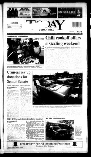 Primary view of object titled 'Today Cedar Hill (Duncanville, Tex.), Vol. 41, No. 11, Ed. 1 Thursday, June 22, 2006'.
