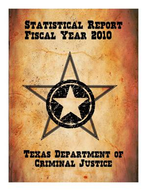 Primary view of object titled 'Texas Department of Criminal Justice Statistical Report: 2010'.