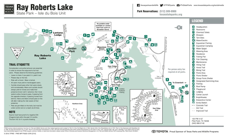 Ray Roberts Lake State Park: Isle du Bois Unit - The ...