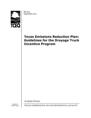 Primary view of object titled 'Texas Emissions Reduction Plan'.