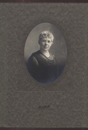 Primary view of object titled '[Portrait of Mary McClellan O'Hair]'.