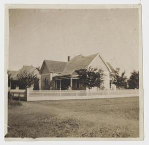 Primary view of object titled '[Walter C. Woodward Home]'.