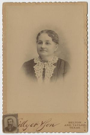 Primary view of object titled '[Portrait of a Middle Aged Woman]'.
