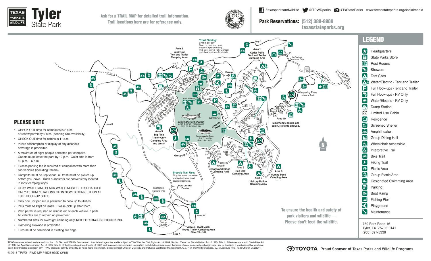 State Parks In Arkansas Map.Tyler State Park The Portal To Texas History