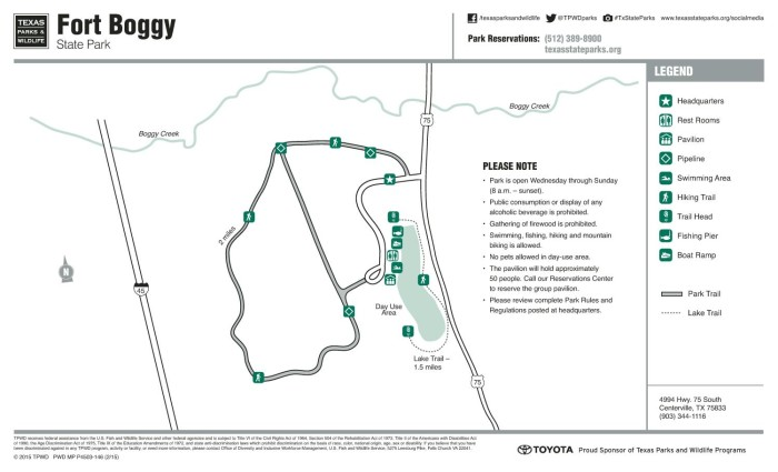Fort Boggy State Park - The Portal to Texas History