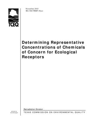 Primary view of object titled 'Determining Representative Concentrations of Chemicals of Concern for Ecological Receptors'.