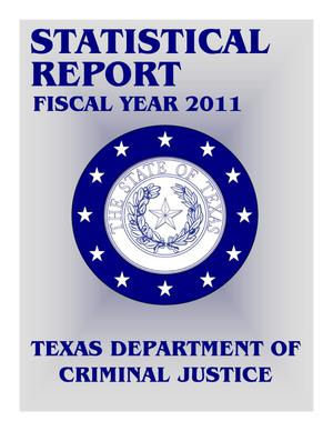 Primary view of object titled 'Texas Department of Criminal Justice Statistical Report: 2011'.