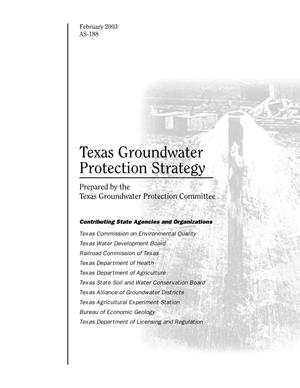Primary view of object titled 'Texas Groundwater Protection Strategy'.