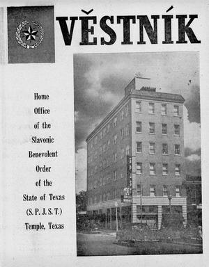 Primary view of object titled 'Věstník (West, Tex.), Vol. [41], No. [46], Ed. 1 Wednesday, November 11, 1953'.