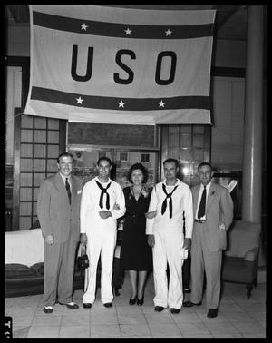 Primary view of object titled 'USO (United Service Organizations) Group'.